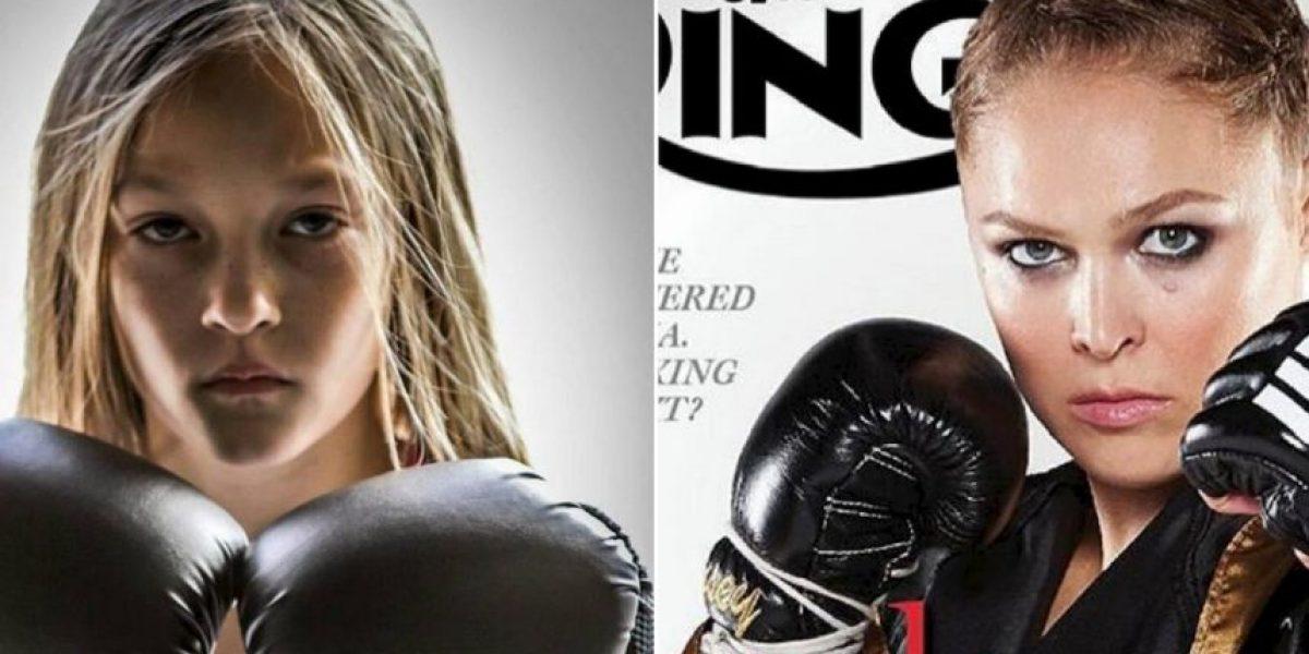 Sucesora de Ronda Rousey tiene solo 9 años