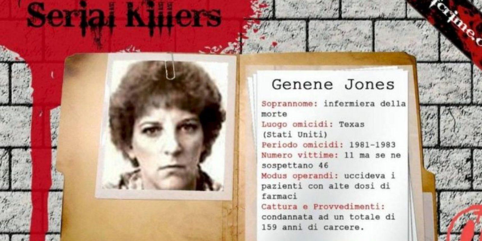 ¡Brutales! Estas son las 7 peores enfermeras asesinas de la Historia Genene Jones, 'Baby Killer', asesina de bebés en serie. Foto:HallofCrime. Imagen Por: