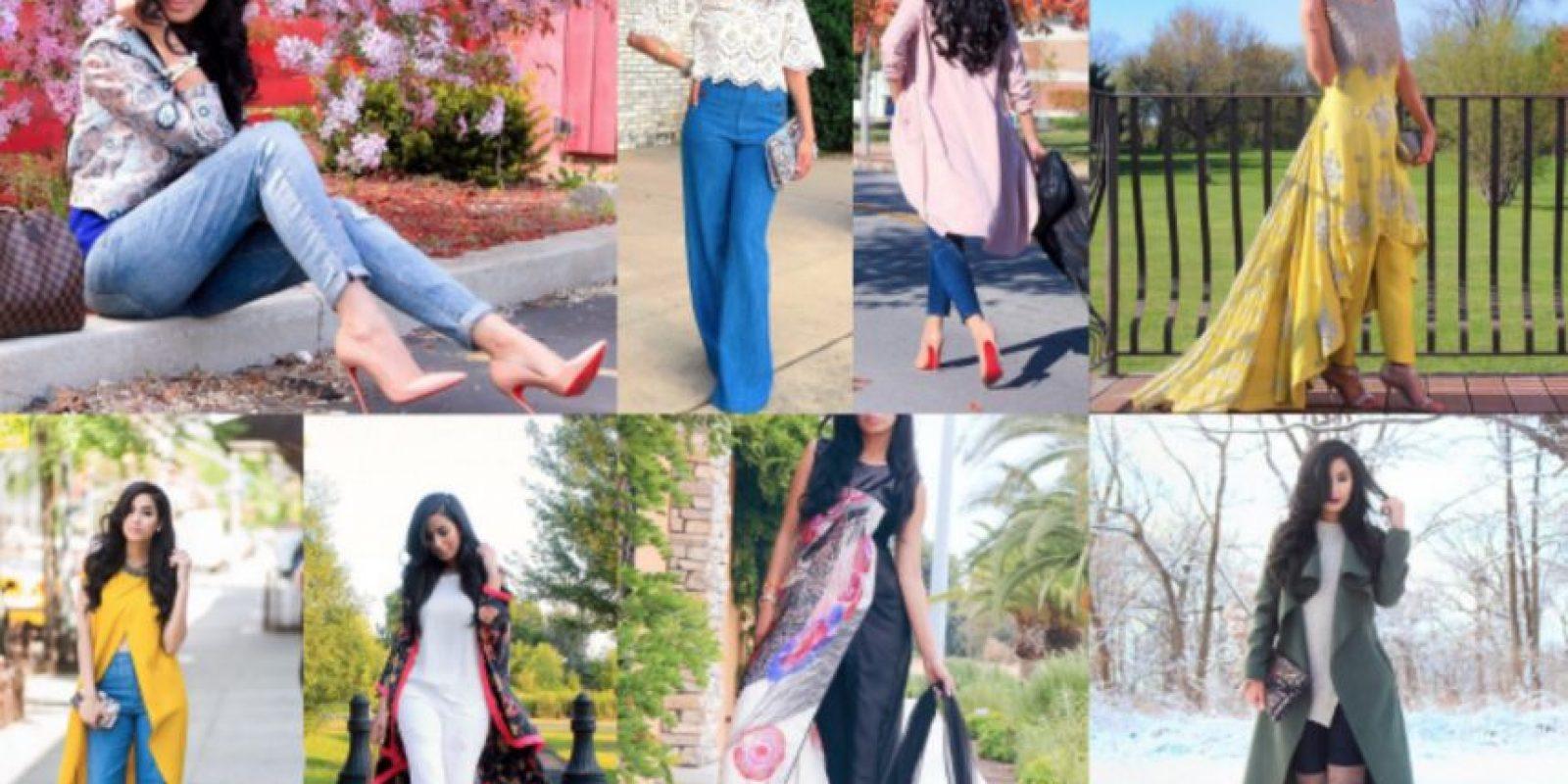 """Anam Shahid. Tiene 27 años y es creadora del portal """"The Style Menu"""". Se caracteriza por no usar el hijab. Foto:vía Instagram. Imagen Por:"""