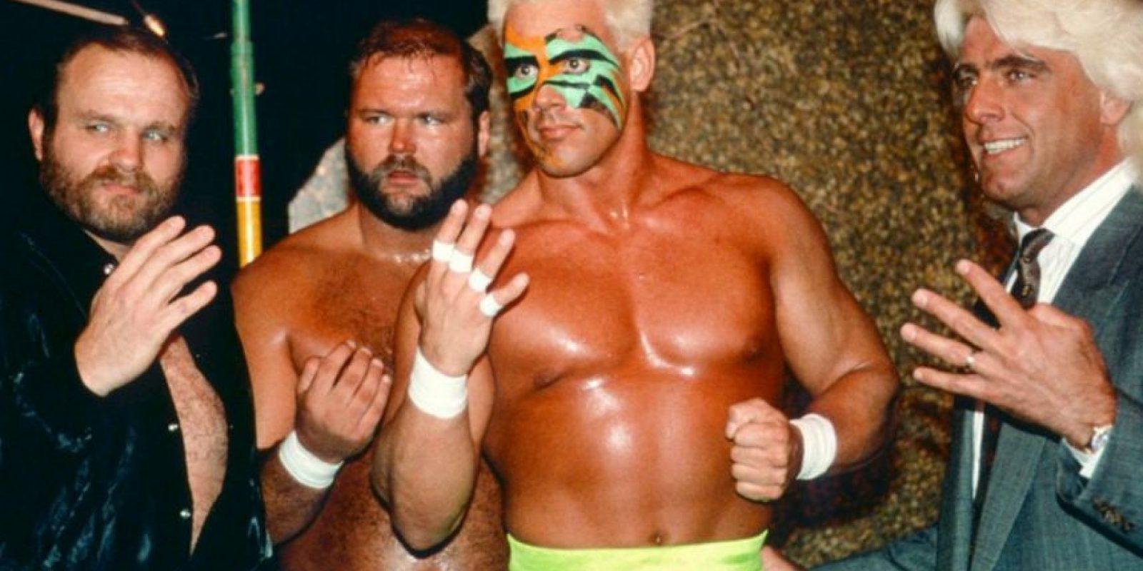 Su nombre real es Steve Borden. Foto:WWE. Imagen Por: