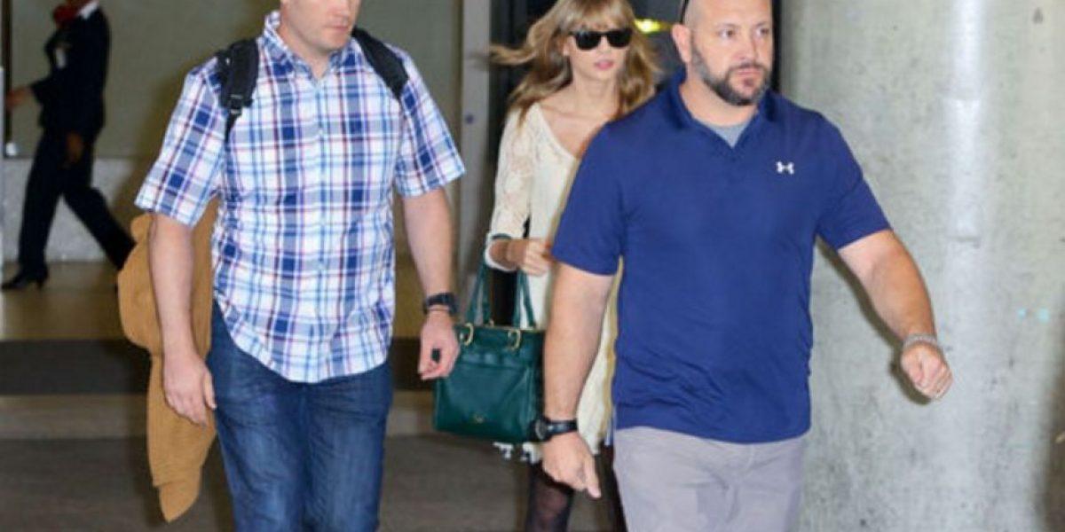 Guardaespaldas de Taylor Swift se hace famoso por esta foto