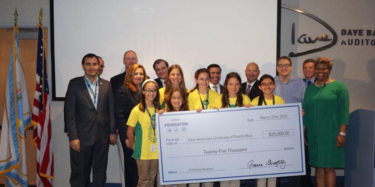 JetBlue Foundation otorga $25,000 a Escuela de Aeronáutica de la INTER