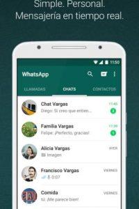 WhatsApp les permitirá estar siempre en contacto. Foto:WhatsApp. Imagen Por: