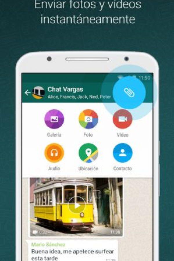 Recientemente también conocimos la opción de poner colores sólidos de fondo en nuestras conversaciones. Foto:WhatsApp. Imagen Por: