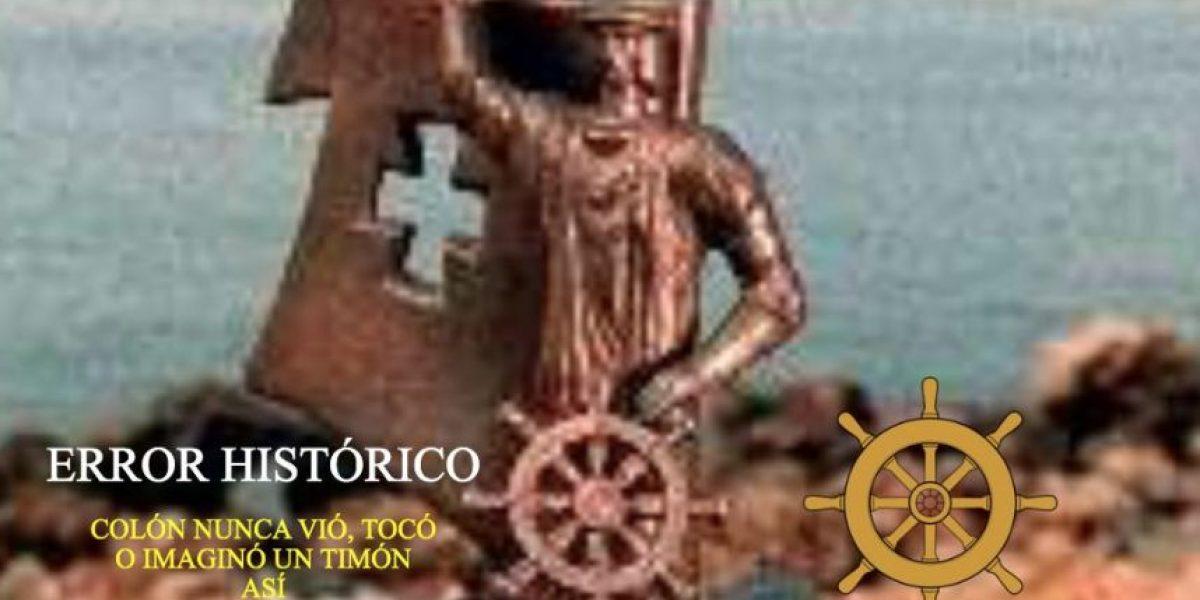Boricuazo no quiere que nos digan brutos por la estatua de Colón