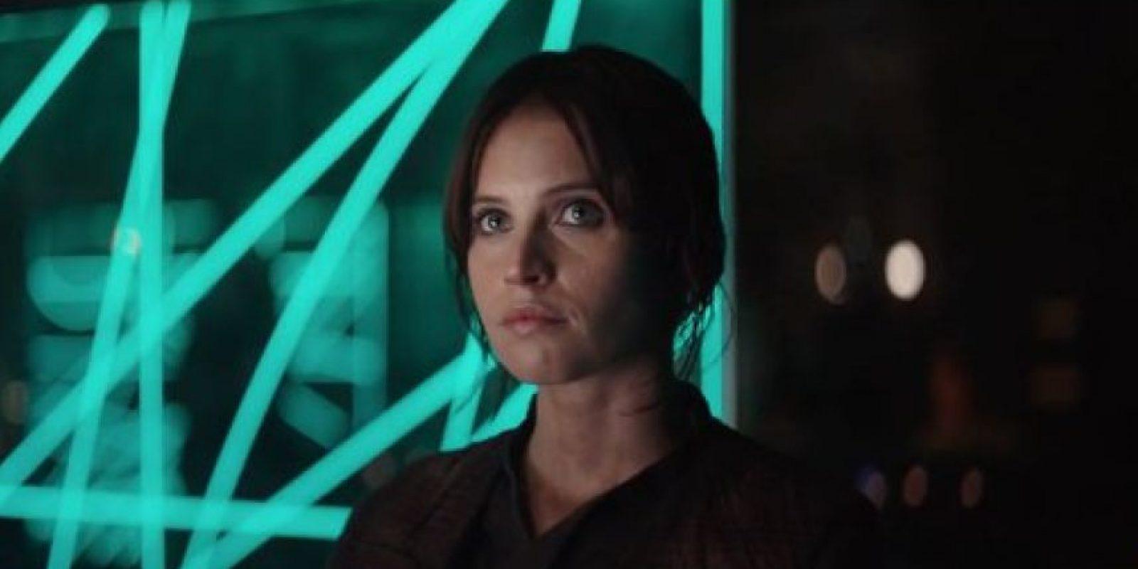 Protagonizado po Felicity Jones. Foto:Star Wars. Imagen Por: