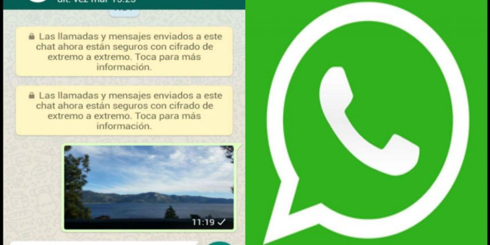El día de ayer, WhatsApp anunció el nuevo cifrado. Foto:WhatsApp. Imagen Por: