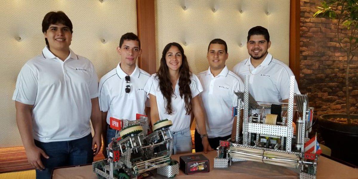 Delta auspicia al AON-Robotics Team de la Universidad de Puerto Rico