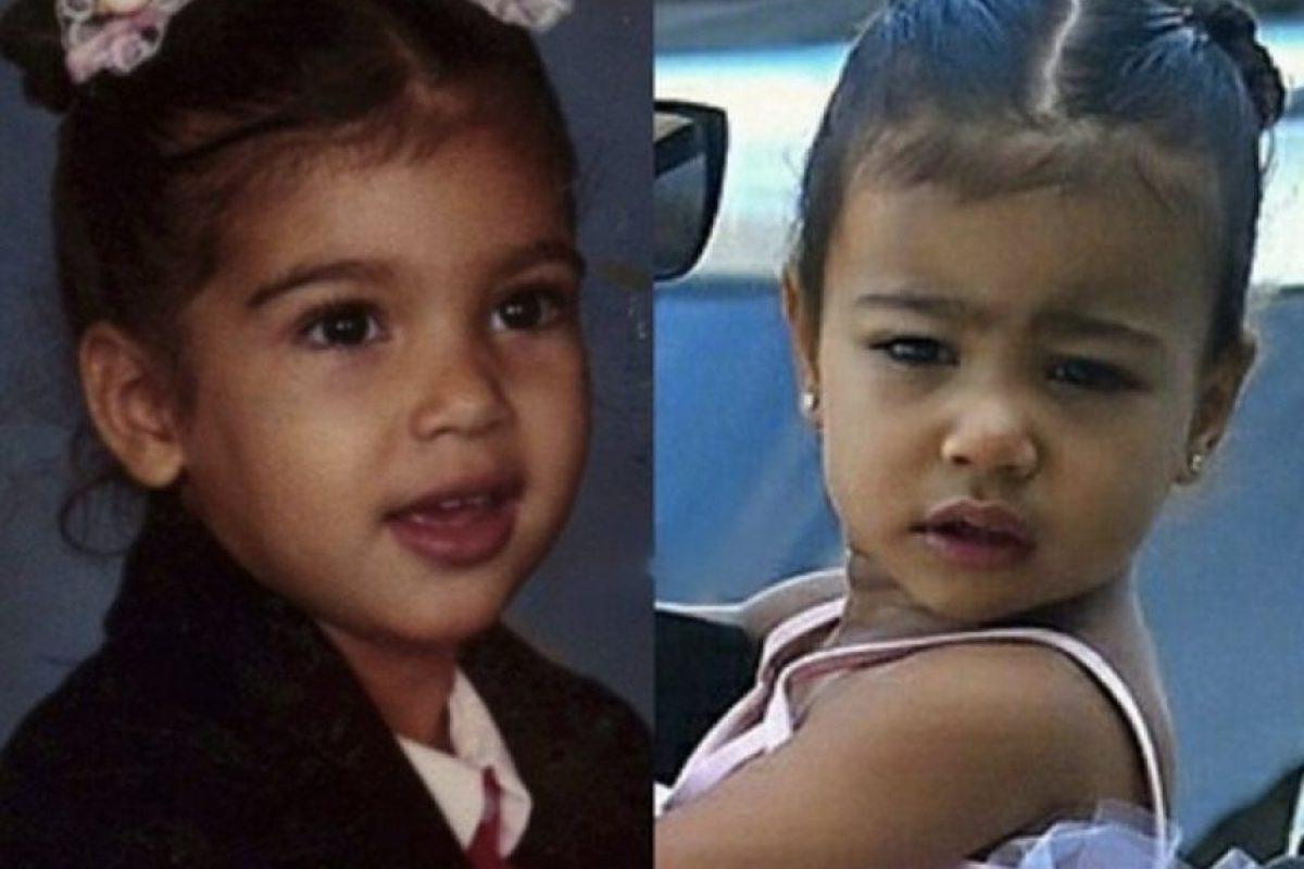 El parecido es innegable Foto:Vía instagram.com/kimkardashian. Imagen Por: