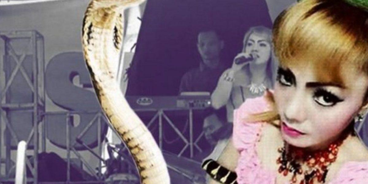 Verdadera historia de la cantante que fue mordida por una cobra