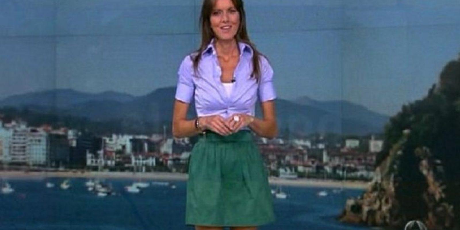 Ejerce desde hace tres años como meteoróloga durante los fines de semana de Antena 3 Foto:Vía facebook.com/himar.gonzalez. Imagen Por: