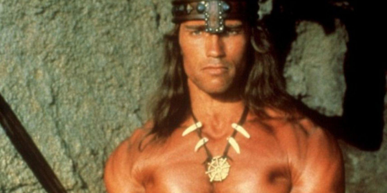 """Sobre todo en el film """"Conan el Bárbaro"""". Foto:vía Universal Pictures. Imagen Por:"""