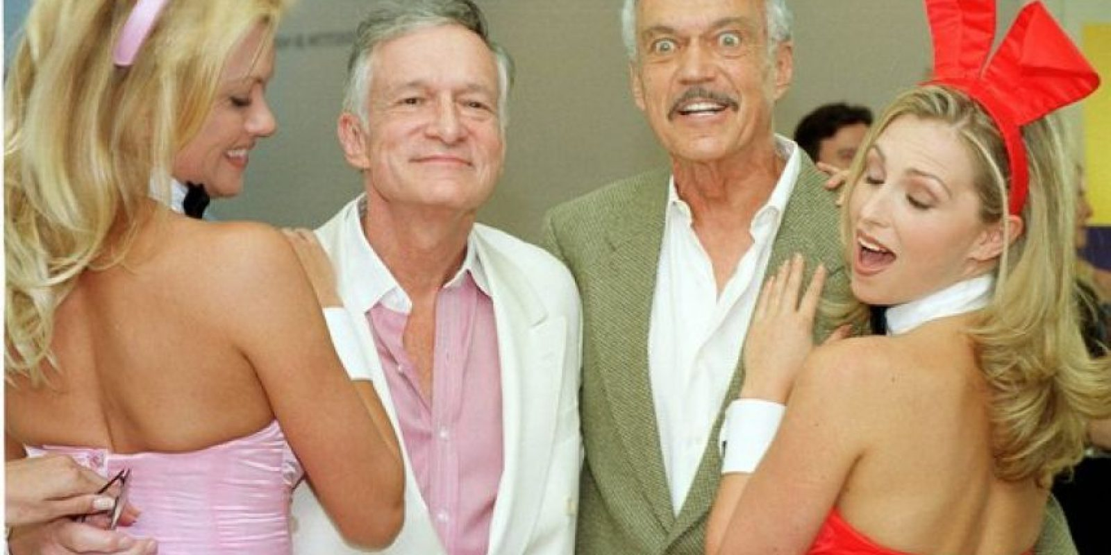 Era hermano menor de Hugh Hefner Foto: Getty Images. Imagen Por: