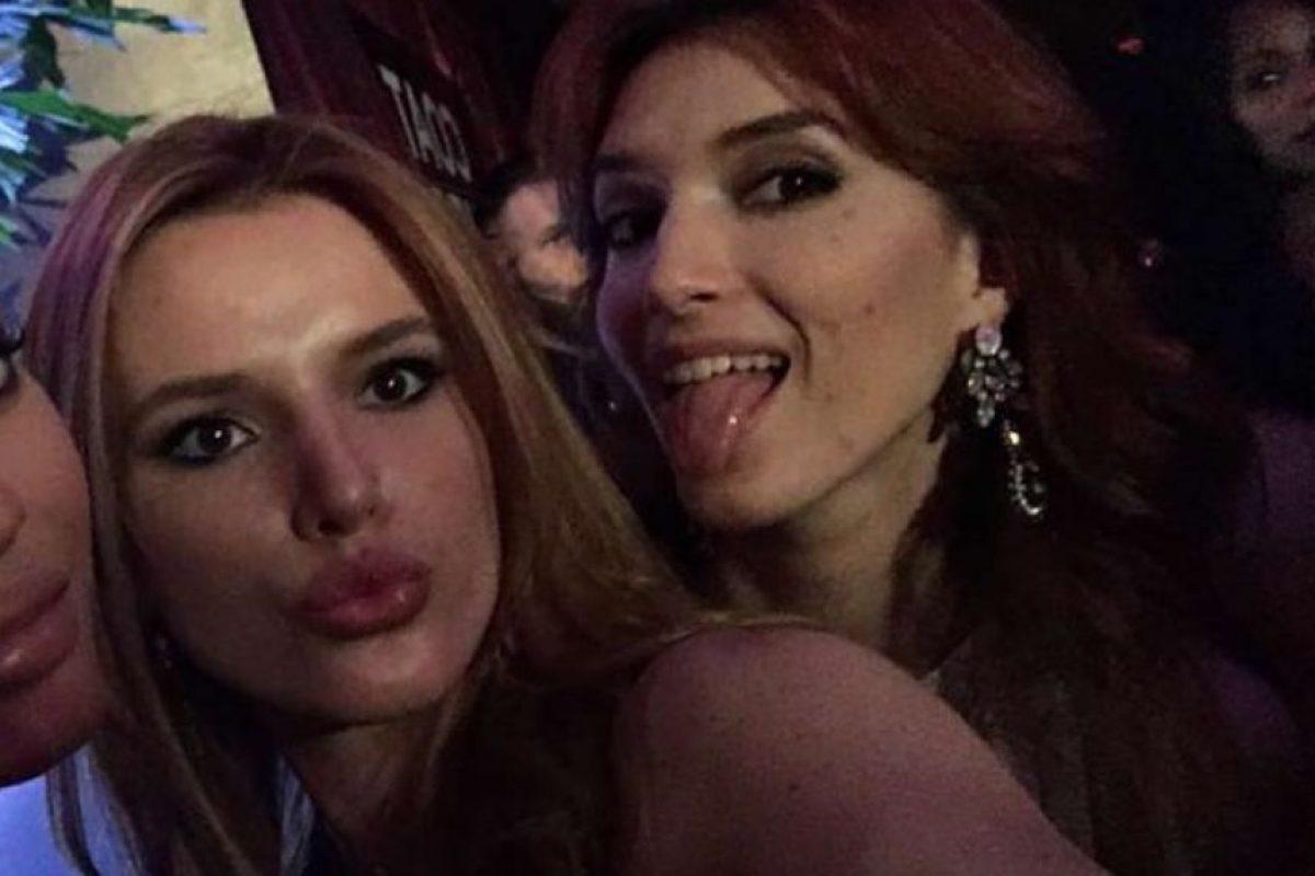 Dani y Bella Foto:Vía Instagram/@dani_thorne. Imagen Por: