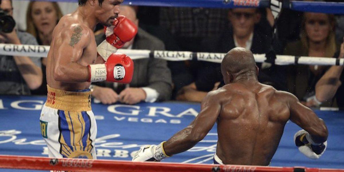 Pacquiao se exhibe ante Bradley y vuelve a ser campeón del mundo