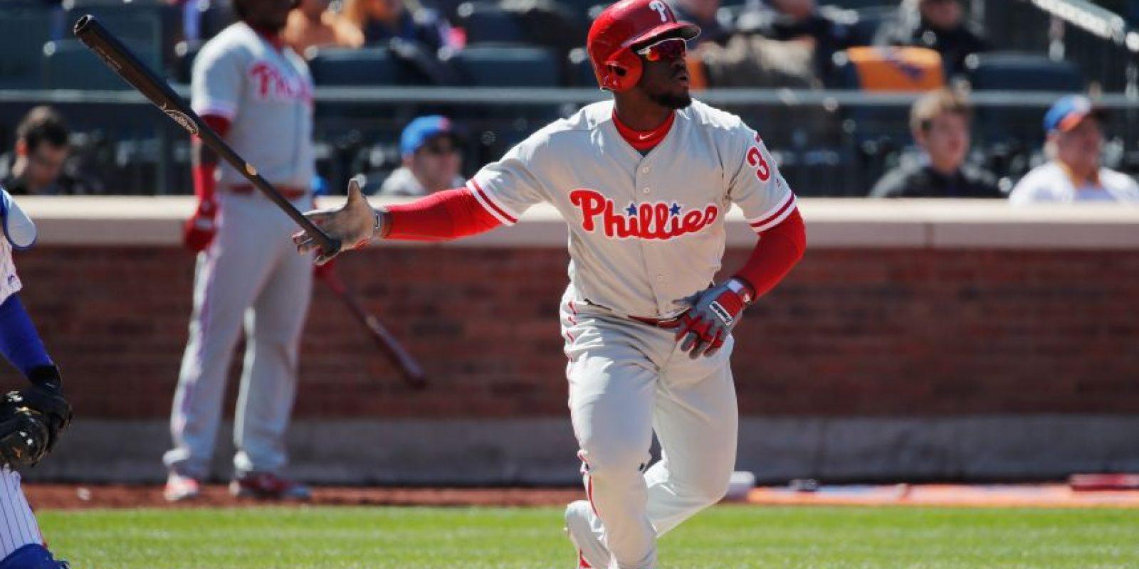 Los Filis continuaron su dominio de los Mets. Foto:Getty Images. Imagen Por: