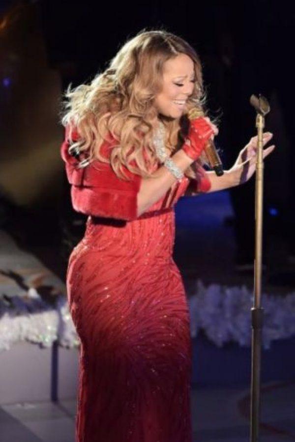 Lucía unos kilos de más… Foto:Getty Images. Imagen Por: