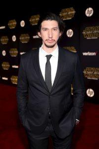 "Adam Driver por ""Star Wars: The Force Awakens"" Foto:Getty Images. Imagen Por:"