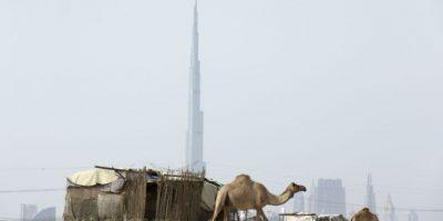 Conocido durante su construcción como Burj Dubái Foto:Getty Images. Imagen Por: