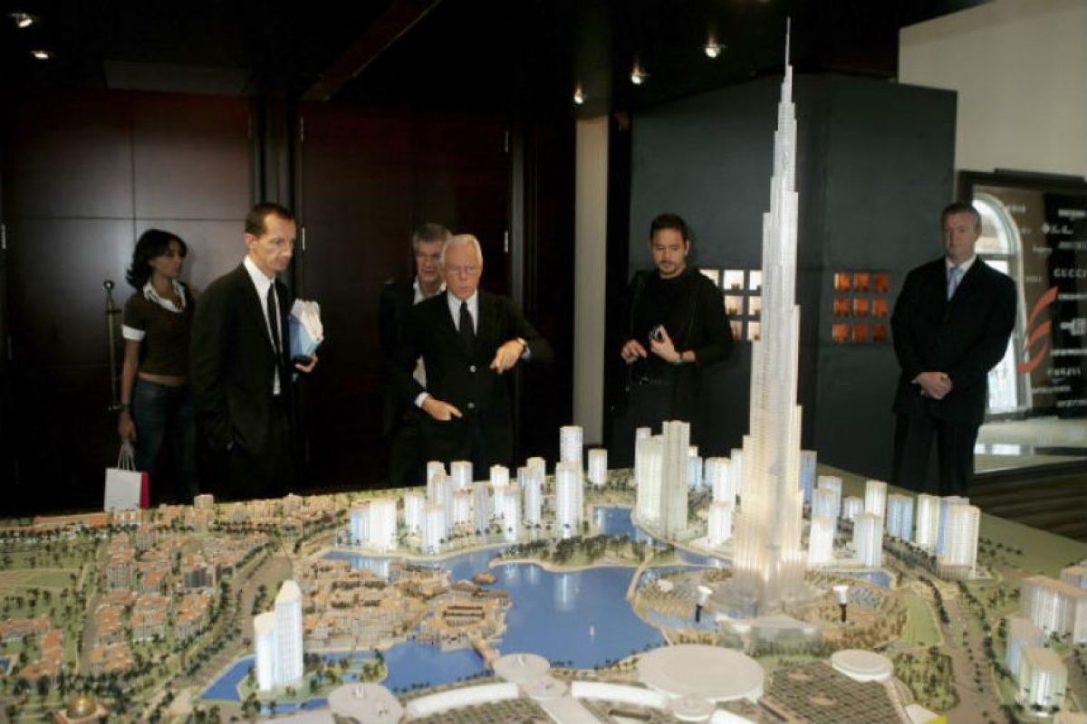 Es un rascacielos ubicado en Dubái Foto:Getty Images. Imagen Por: