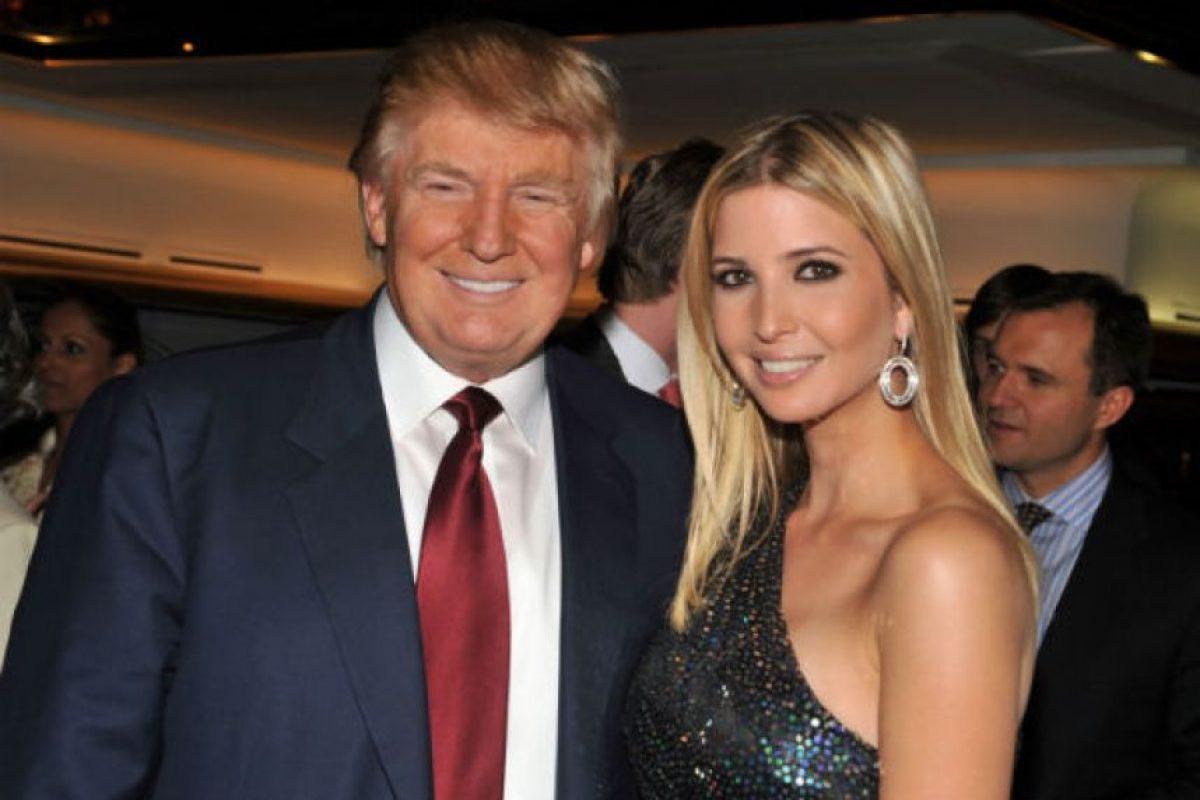 Ivanka es una empresaria estadounidense, dueña de su propia línea de ropa y Vicepresidente de Real Estate Development and Acquisitions de la organización Trump. Foto:Getty Images. Imagen Por: