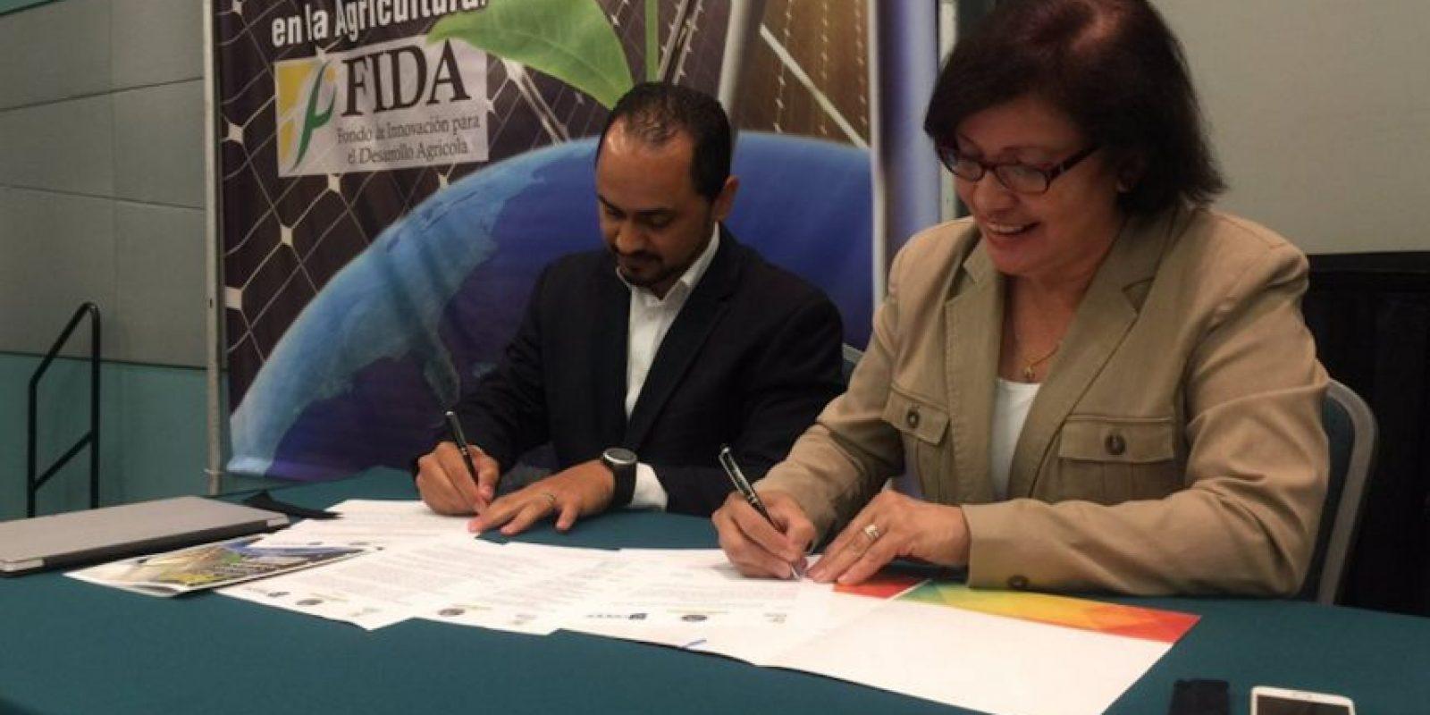 En la foto, José Maeso, director ejecutivo de la OEPPE y la secretaria de Agricultura, Myrna Comas. Foto:Suministrada. Imagen Por: