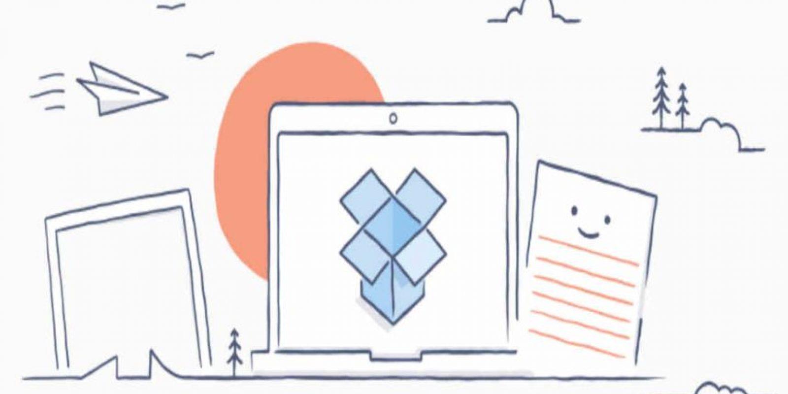 Dropbox es la compañía número uno para guardar cosas en la nube. Foto:Dropbox. Imagen Por: