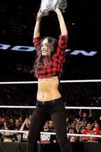 Fue Campeona de las Divas en una ocasión Foto:WWE. Imagen Por: