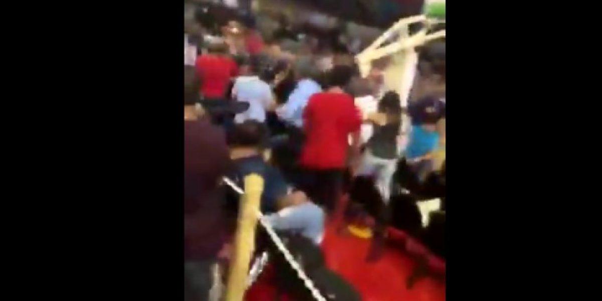 Fanático termina en el hospital tras motín en juego entre Quebradillas y Ponce