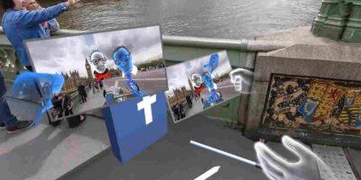 Los Oculus Rift son los lentes de realidad virtual de Facebook. Foto:Facebook F8. Imagen Por: