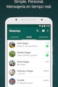 En él pueden guardar todo tipo de archivos. Foto:WhatsApp. Imagen Por: