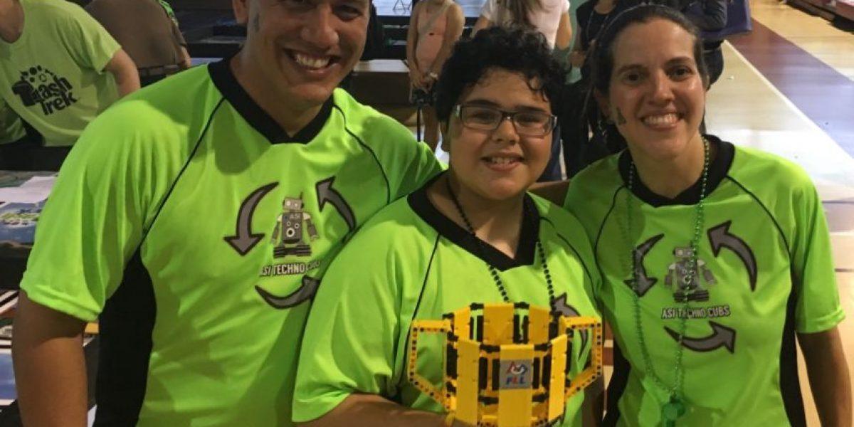 Equipo de robótica de San Ignacio se alza con el primer lugar