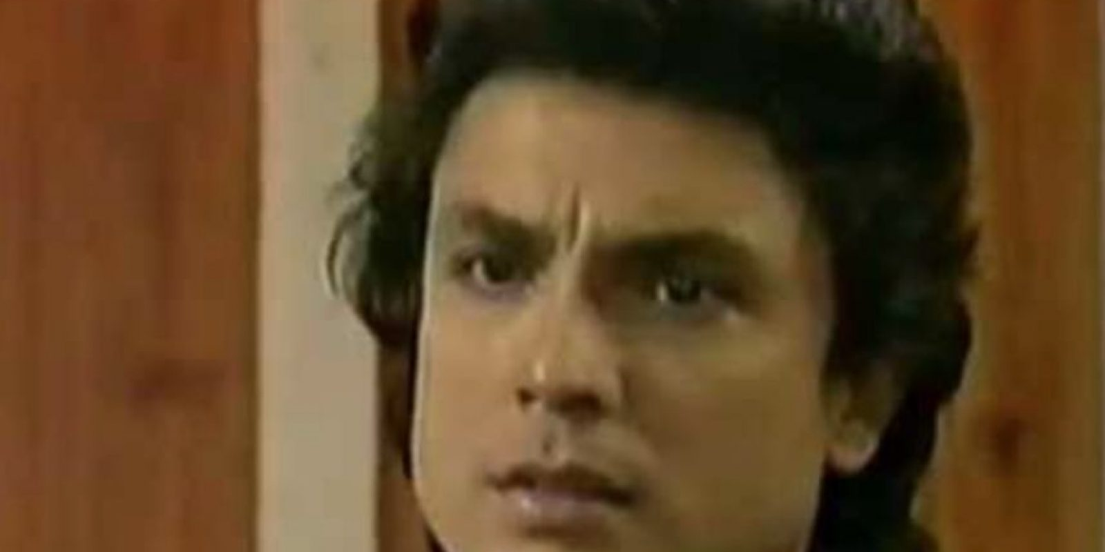 """Osvaldo Ríos era """"Luis David Contreras"""".. Imagen Por:"""