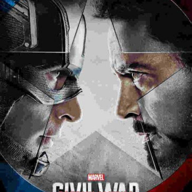 """""""Capitán América: Civil War"""". Mayo 6, 2016. Foto:Marvel. Imagen Por:"""
