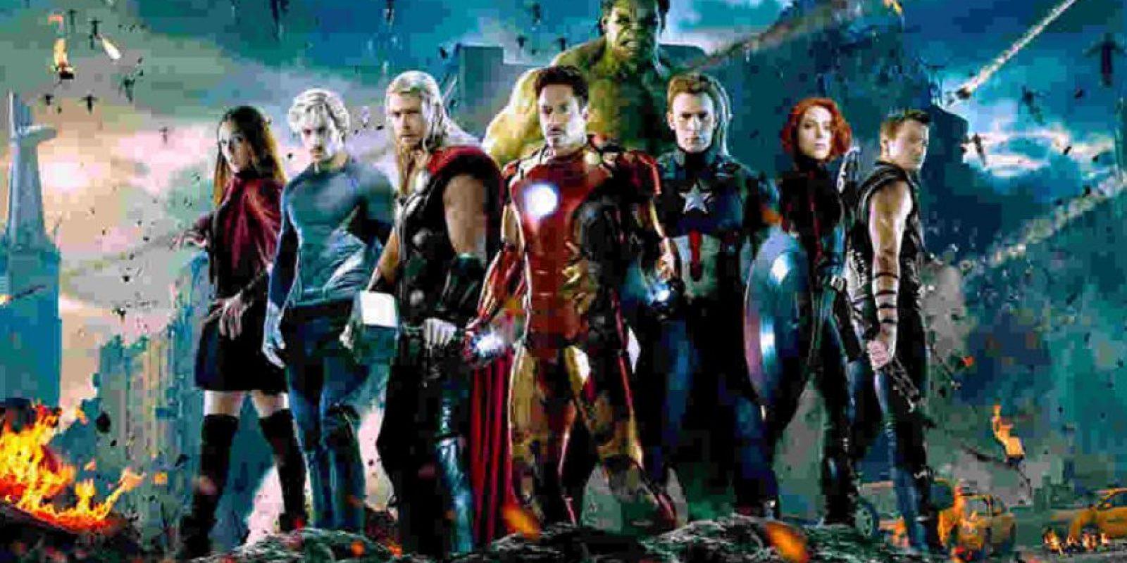 """Avengers: Infinity War Part 2"". Mayo 3, 2019. Foto:Marvel. Imagen Por:"