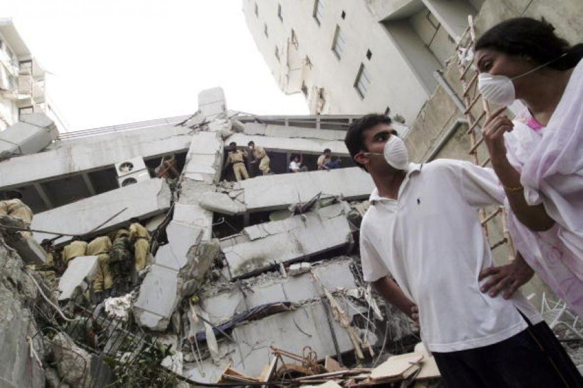 6. 8 de octubre de 2005, Pakistán: Las zonas más devastadas fueron Muzaffarabad, Kashmir y Uri. Foto:Getty Images. Imagen Por: