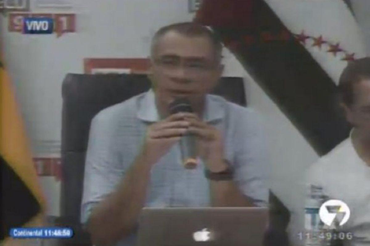 El vicepresidente de la República del Ecuador, Jorge David Glas Espinel. Foto:Captura de pantalla. Imagen Por:
