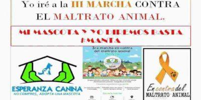 Recientemente hubo una marcha contra el maltrato animal. Foto:Facebook. Imagen Por: