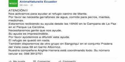 Muchos perros murieron y otros huyeron. Foto:Facebook. Imagen Por: