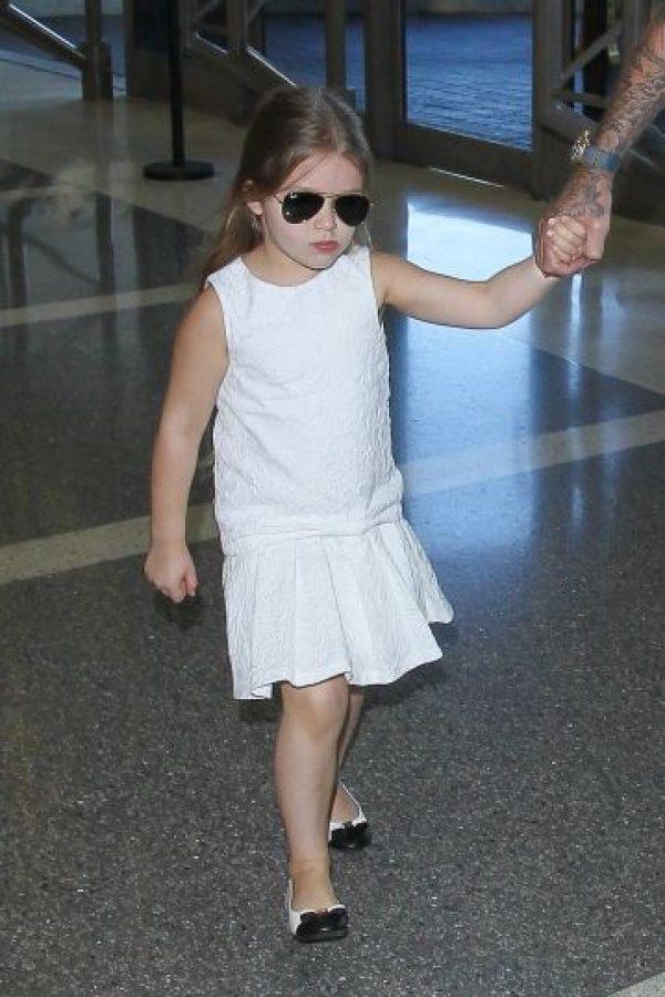 Así luce la pequeña Harper Foto:Grosby Group. Imagen Por: