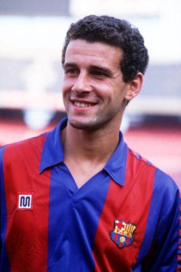 Fue parte de la Selección de España de 1984 a 1988. Foto:Getty Images. Imagen Por:
