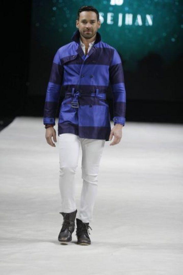 El presentador y modelo, Jaime Mayol. Foto:Facebook: San Juan Moda. Imagen Por: