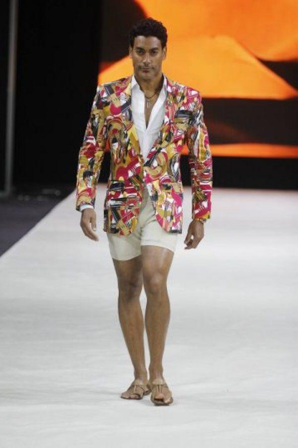 El puertorriqueño Pedro Orta, ganador de Gran Hermano, fue uno de los modelos. Foto:Facebook: San Juan Moda. Imagen Por: