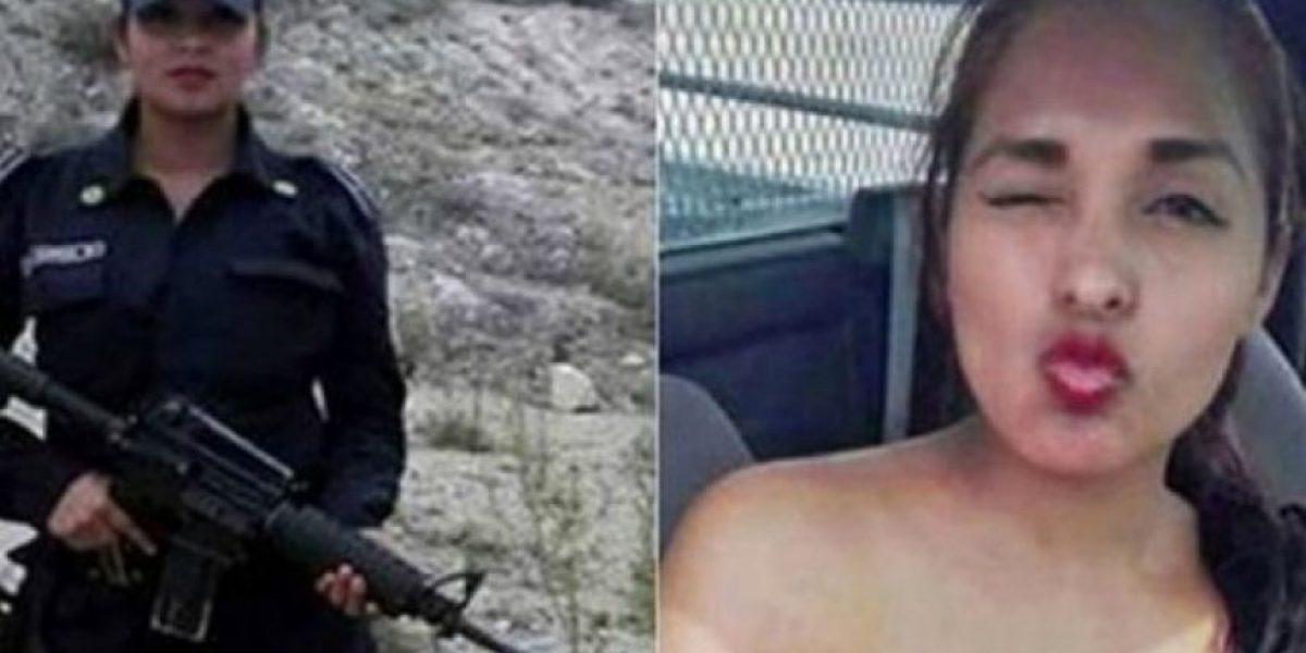 Suspenden a mujer polícia por posar desnuda en una patrulla