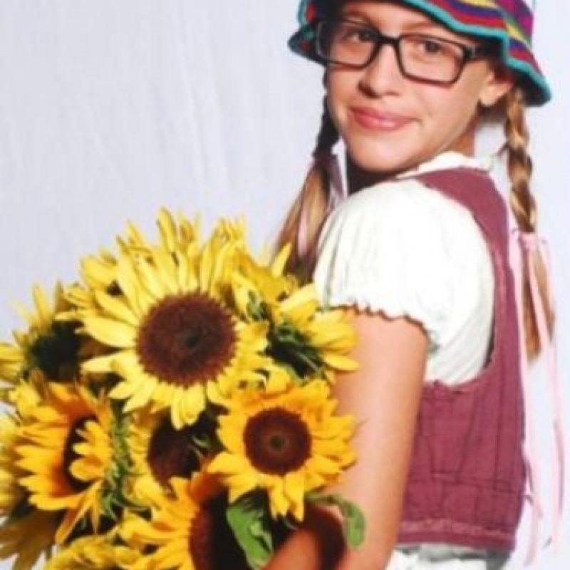 """Laura Esquivel. Este era el look de la actriz argentina en la telenovela """"Patito Feo"""" Foto:Vía instagram.com/laura_esquivel. Imagen Por:"""