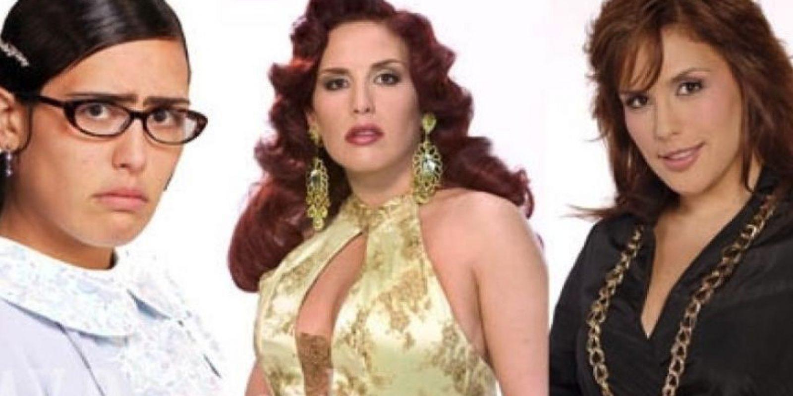 Tras cambiar de look, esta fue su apariencia. Foto:Vía a facebook.com/angelica.vale. Imagen Por: