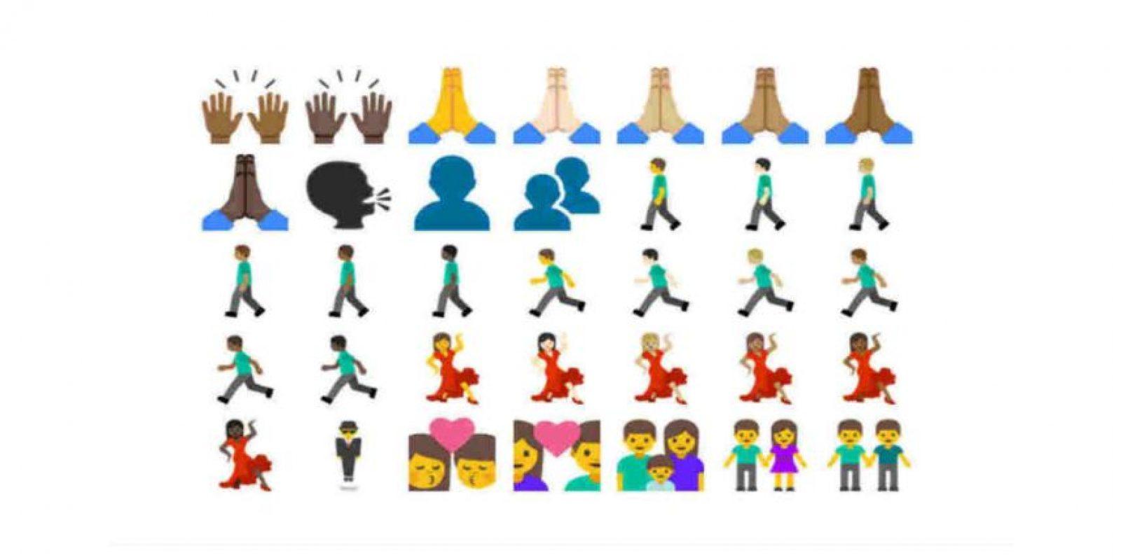 Se esperan nuevos emoticones para iOS y Android. Foto:Emojipedia. Imagen Por: