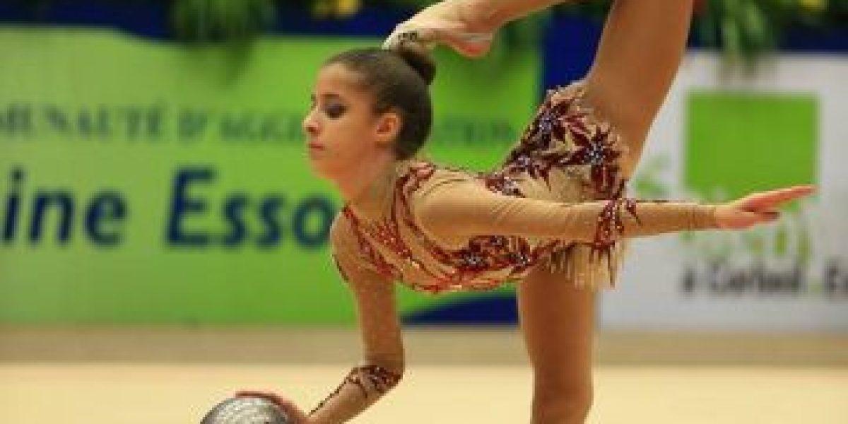 En acción la gimnasia rítmica