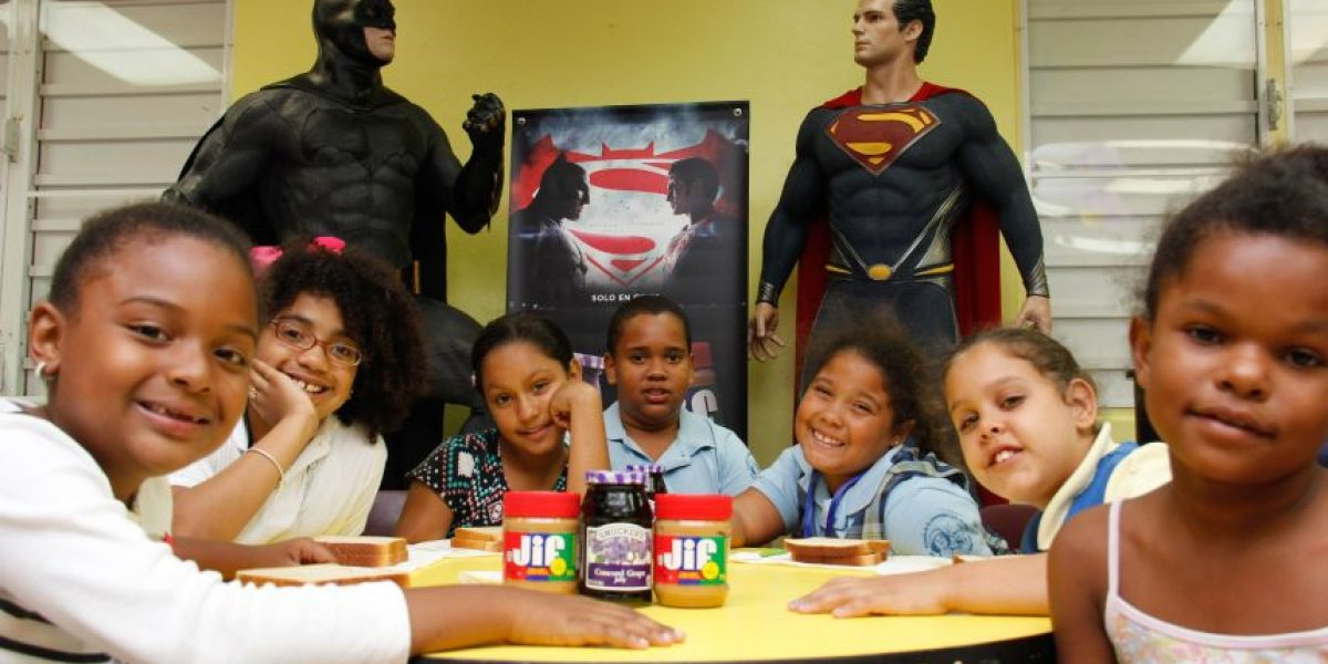 Jif & Smucker's se unen a la batalla de Batman vs Superman