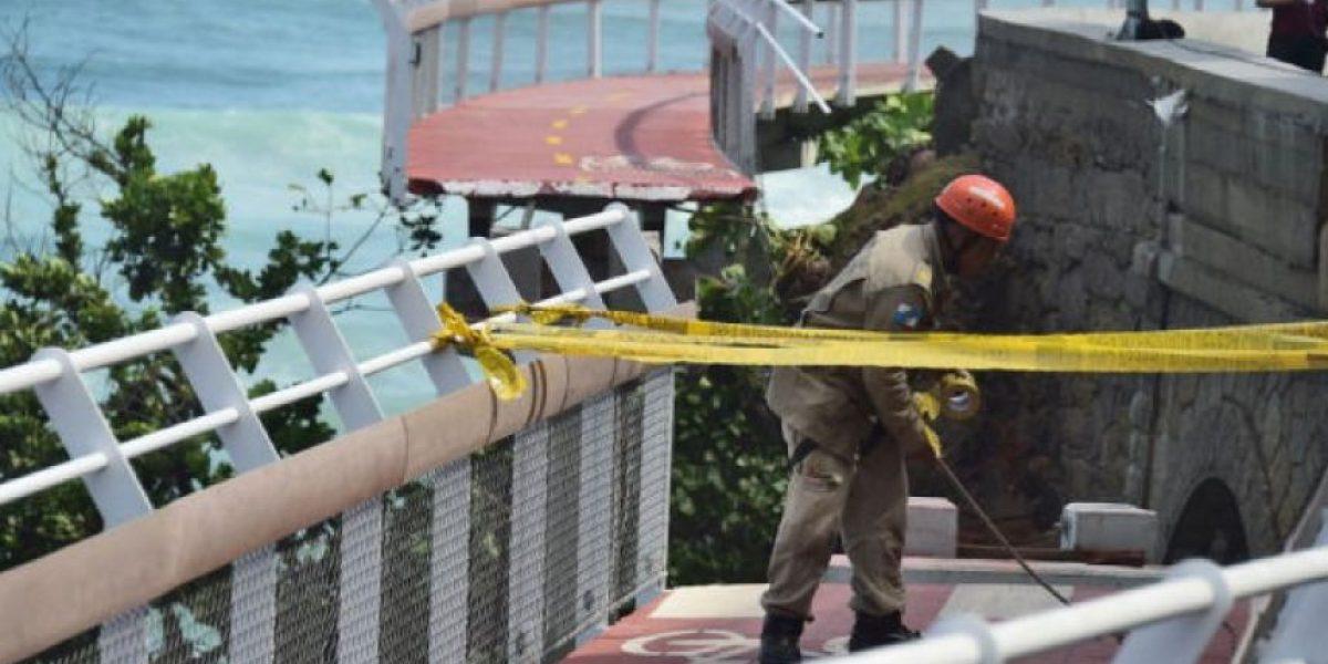 Rio 2016: Cae carril de bici y mueren dos personas